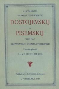 Dostojevskij a Pisemskij